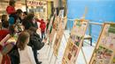 """Ученическата изложба """"Движение без риск"""" гостува на Двореца на децата"""