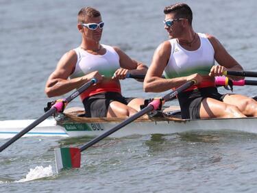 Българските гребци се класираха девети на двойка скул в Рио