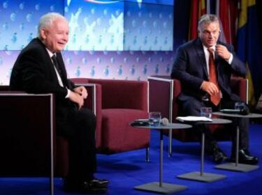 """Орбан и Качински призоваха за културна контрареволюция в ЕС срещу """"чалгата"""" на Брюксел"""
