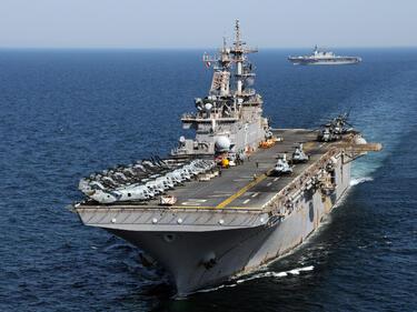 Маневри в Корейския залив! Втори самолетоносач на САЩ ще сплашва Пхенян