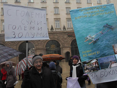 Учени погнаха Борисов със SMS-и