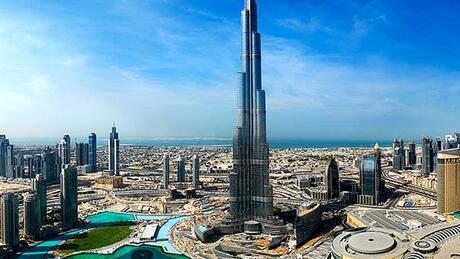 """Резултат с изображение за Небостъргачът """"Бурдж Халифа"""" в Дубай"""