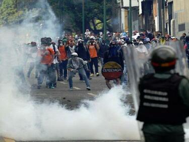 Недостиг на храна доведе по вандалски прояви във Венецуела