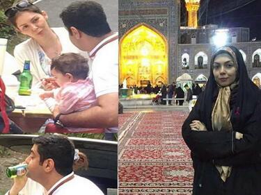 Как се държи консервативна иранска тв звезда у дома и на Запад (СНИМКИ/ВИДЕО)