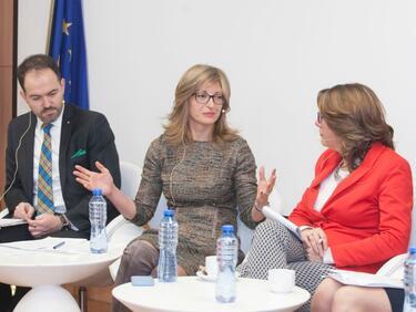 Захариева: Работата със Западните Балкани да е активна и след нашето председателство