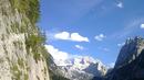 Вардят швейцарски ледник с платнища от горещините