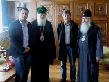 Патриарх Неофит е фен на ЦСКА