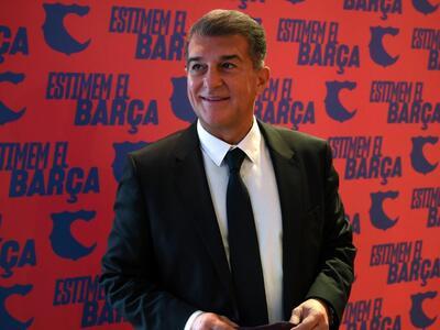 Жоан Лапорта пак е президент на Барса